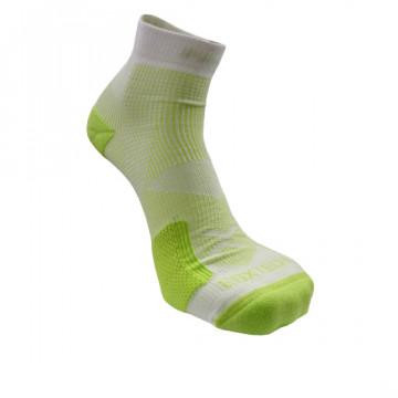 《8字繃帶》P82L 側向保護8字繃帶運動襪(白/綠)