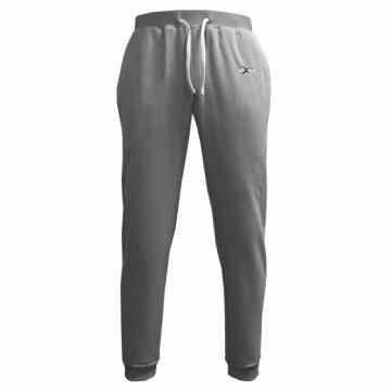BHF-男款鬆軟刷毛長褲(灰)
