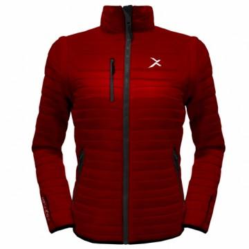 UV-2W 女款變色龍2 IN 1高效保暖外套(紅/黑)