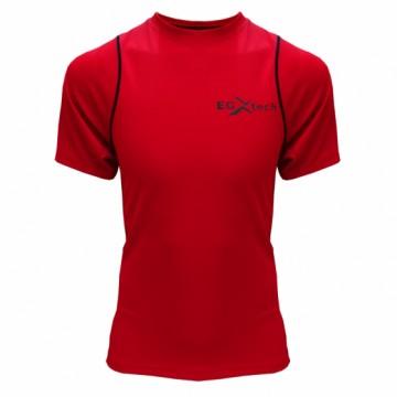 EDS-3男款隧道式單導排汗衣(紅/黑)