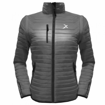 UV-2W 女款變色龍2 IN 1高效保暖外套(鐵灰)
