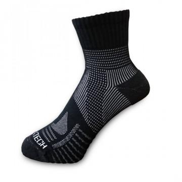 《8字繃帶》P82 中統多功8字繃帶運動襪(神秘黑)-S號