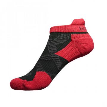2X 強化穩定壓縮踝襪(黑/紅)