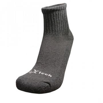 Basic機能抗菌除臭中筒襪(消光黑)-僅剩M號