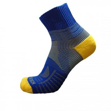 《8字繃帶》P82 中統多功8字繃帶運動襪(藍/黃)
