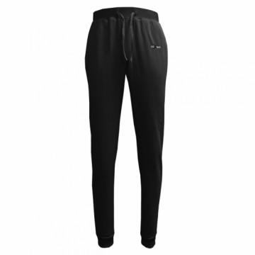 BHFW-女款鬆軟刷毛長褲(黑)