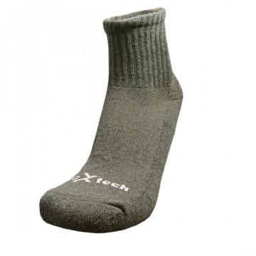Basic機能抗菌除臭中筒襪(鋼鐵灰)