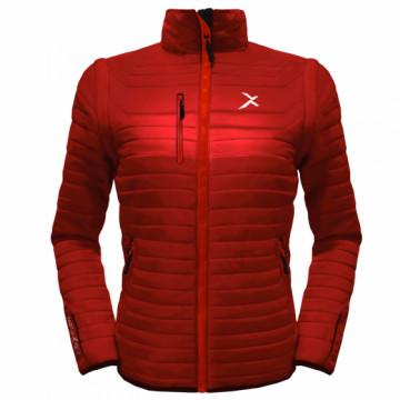 UV-2W 女款變色龍2 IN 1高效保暖外套(葉紅)