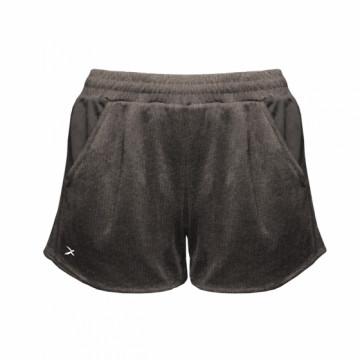 EDS-EXWS 女款涼感單導排汗短褲(麻灰)