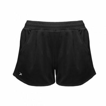 EDS-EXWS 女款涼感單導排汗短褲(黑)
