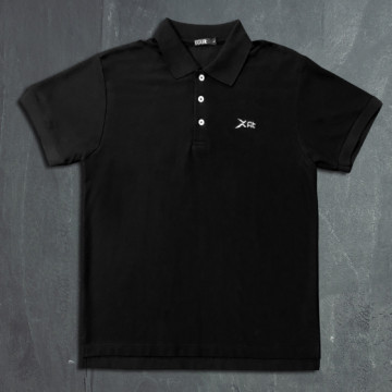ES-1P 運動POLO衫(黑)