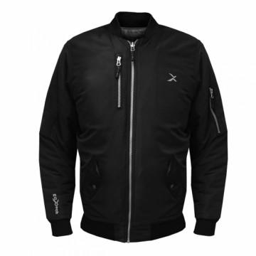 BJ-MA1經典飛行保暖夾克(黑)
