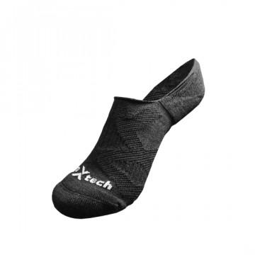 2X 強化穩定壓縮隱形襪(黑)