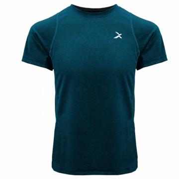 EDS-EXT 男款涼感單導排汗短袖(墨綠)